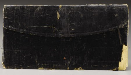 72013: Civil War Era Wallet From VA w/ CSA Money