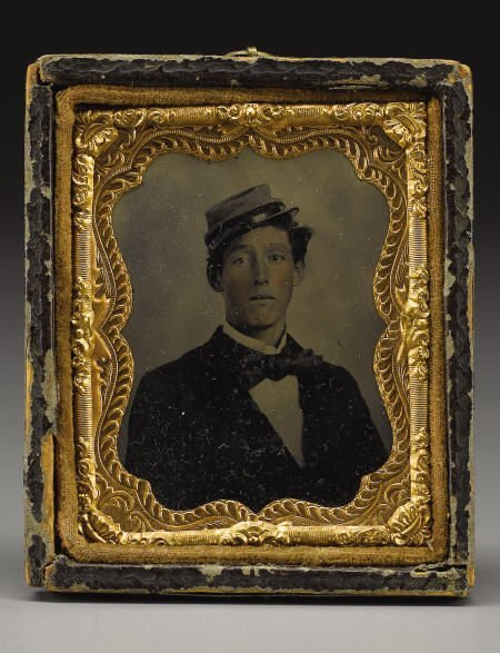 72014: Ninth Plate Tintype of George W. Gaither 10th VA