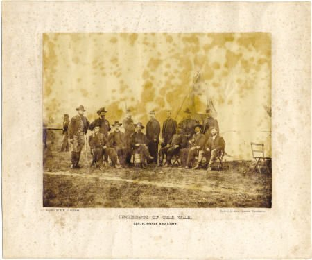 72551: Incidents Of The War, Gen. H. Prince and Staff,