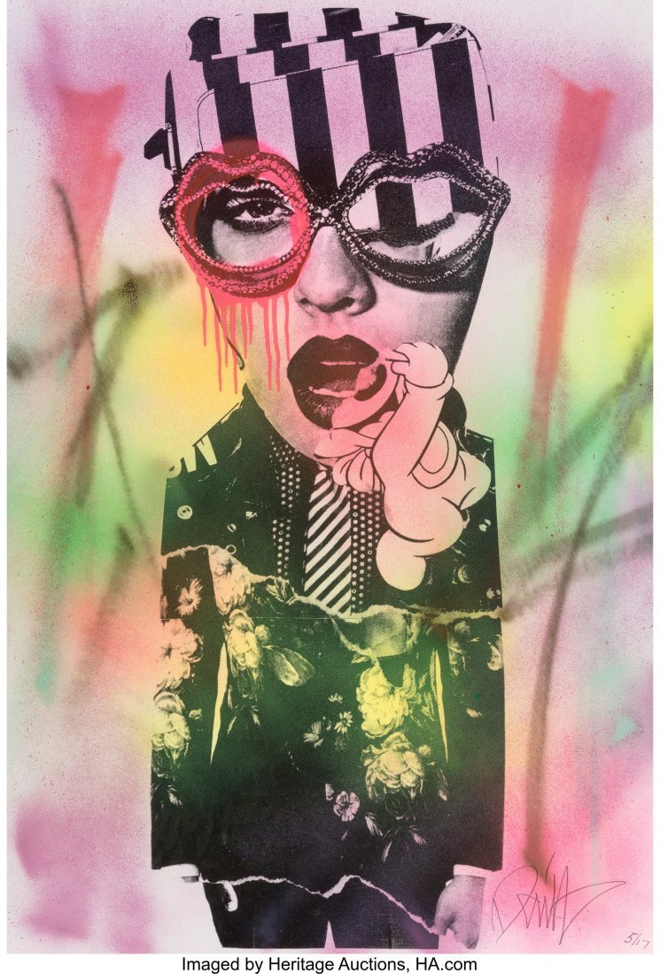 40022: DAIN (20th century) Untitled, early 21st century