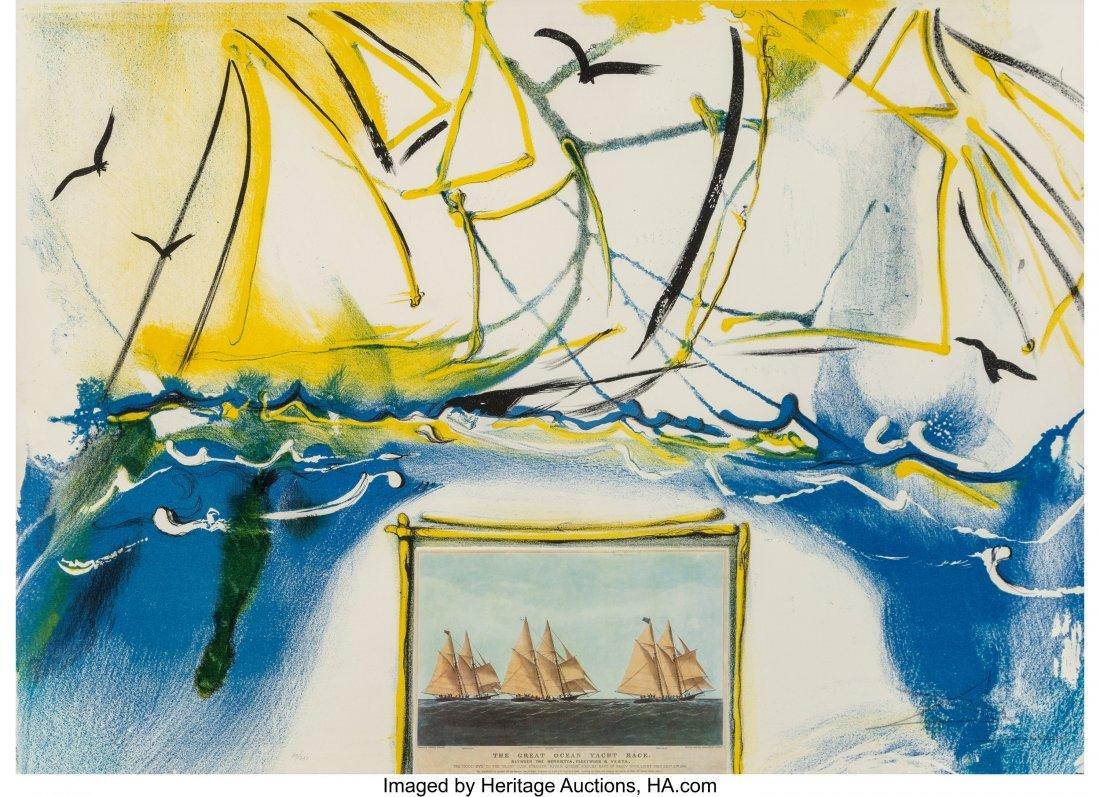 40024: Salvador Dalí (1904-1989) American Yachti