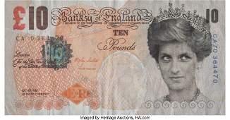 40009: Banksy X Banksy of England Di-Faced Tenner, 10 G