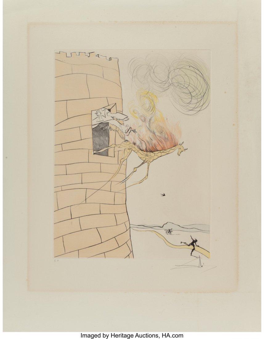 40028: Salvador Dalí (1904-1989) Le Grand Inquis