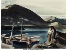 76168: Millard Sheets (American, 1907-1989) Windswept,