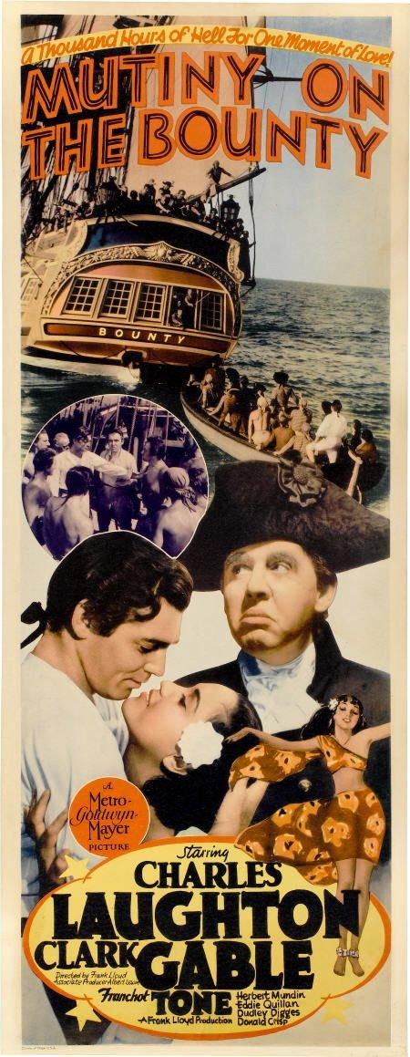 "28003: Mutiny On The Bounty (MGM, 1935). Insert (14"" X"