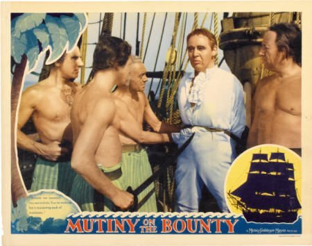 28004: Mutiny On The Bounty (MGM, 1935). Lobby Card