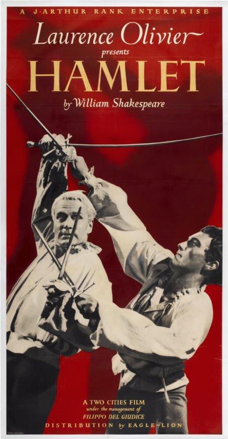 28009: Hamlet (Eagle Lion, 1949). British Three Sheet