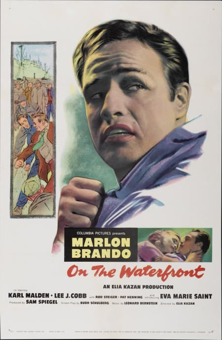 28014: On the Waterfront (Columbia, 1954). One Sheet