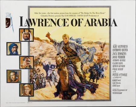 28017: Lawrence of Arabia (Columbia, 1962). Half Sheet