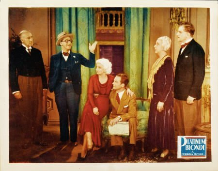28019: Platinum Blonde (Columbia, 1931). Lobby Card (11