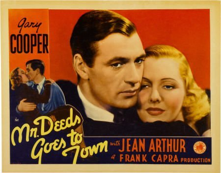 28023: Mr. Deeds Goes to Town (Columbia, 1936). Lobby