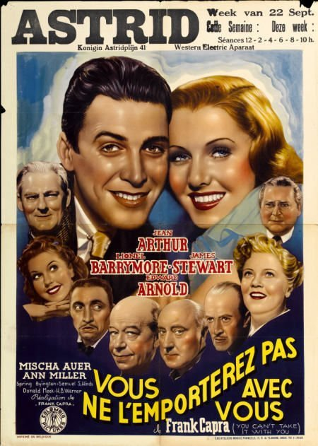 28024: You Can't Take It With You (Columbia, 1938).