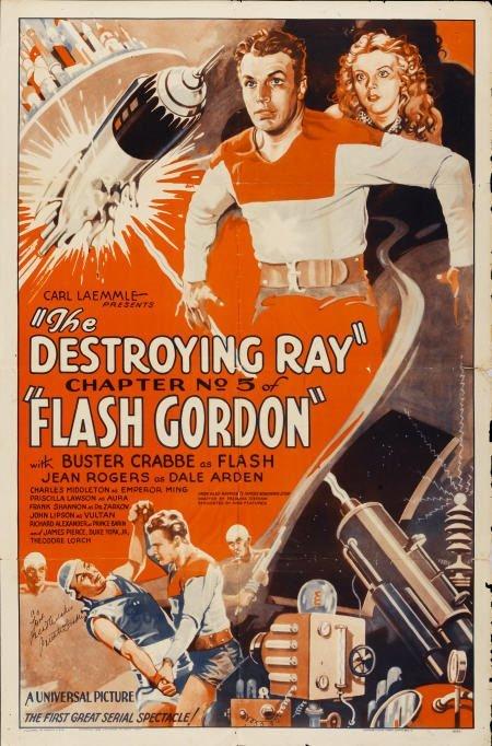 28093: Flash Gordon (Universal, 1936). Autographed One