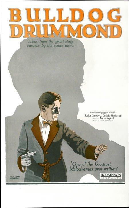 28227: Bulldog Drummond (Hodkinson Pictures, 1922).