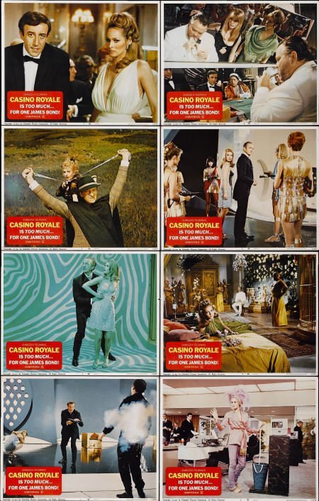 28649: Casino Royale (Columbia, 1967). Lobby Card Set