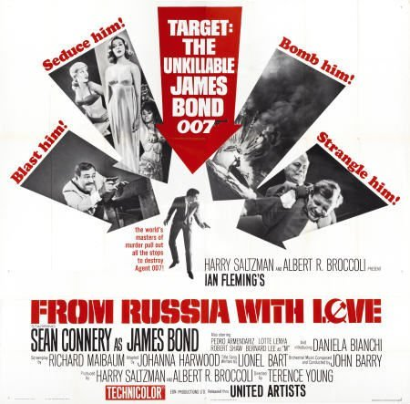 28653: From Russia with Love (United Artists, 1964).