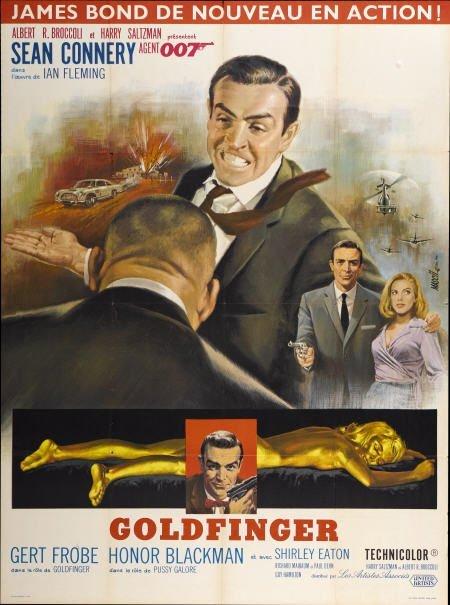 28661: Goldfinger (United Artists, 1964). French Grande