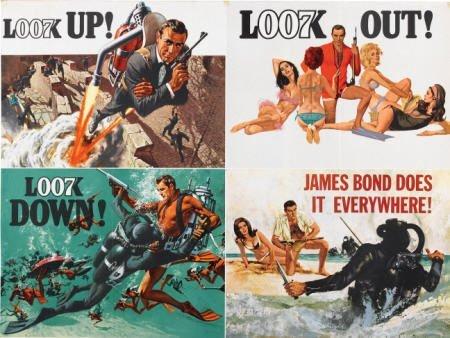 28662: Thunderball (United Artists, 1965). British Quad