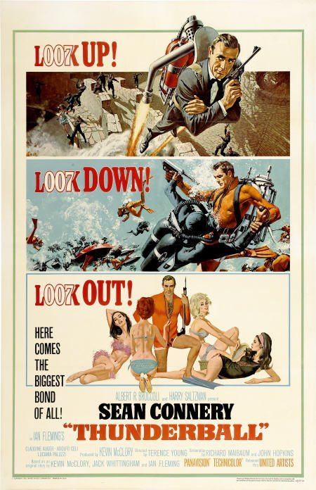 28665: Thunderball (United Artists, 1965). One Sheet
