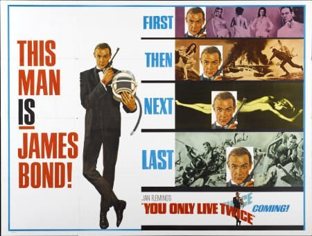 28666: You Only Live Twice (United Artists, 1967). Subw