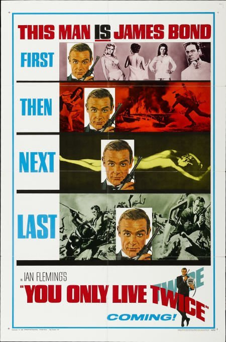 28667: You Only Live Twice (United Artists, 1967).