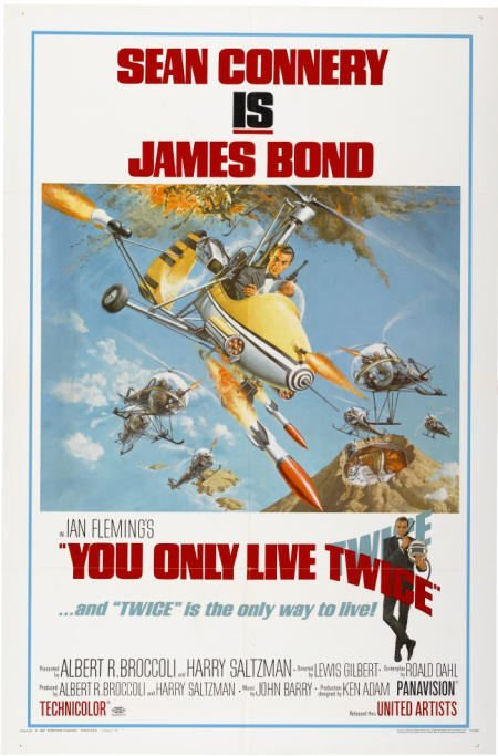 28668: You Only Live Twice (United Artists, 1967). One