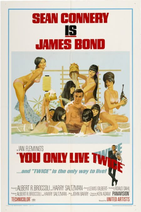 28669: You Only Live Twice (United Artists, 1967). One