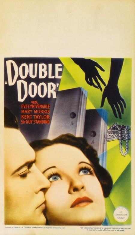 29187: Double Door (Paramount, 1934). Midget Window
