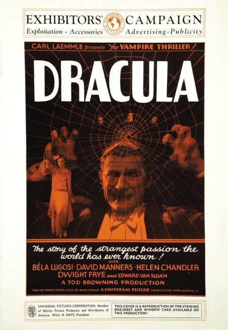 "29360: Dracula (Universal, 1931). Pressbook (13.5"" X 19"