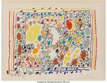 65096: Pablo Picasso (1881-1973) Le Picador II, 1961 Li