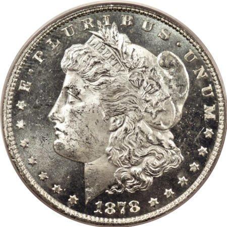 2176: 1878 7/8TF $1 Strong MS64 Deep Mirror Prooflike