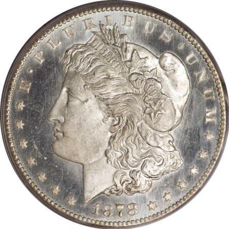 2180: 1878-CC $1 MS65 Deep Mirror Prooflike PCGS.