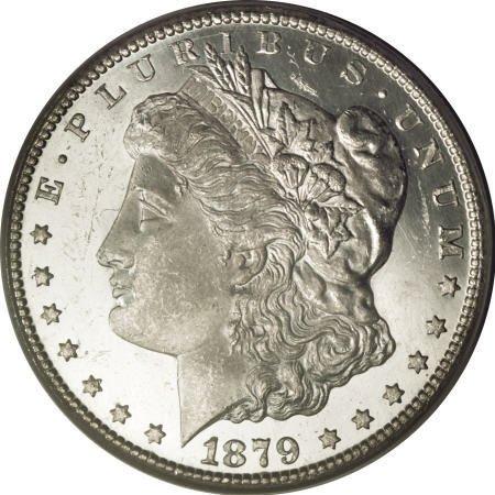 2184: 1879-CC $1 Capped Die MS64 Deep Mirror Prooflike