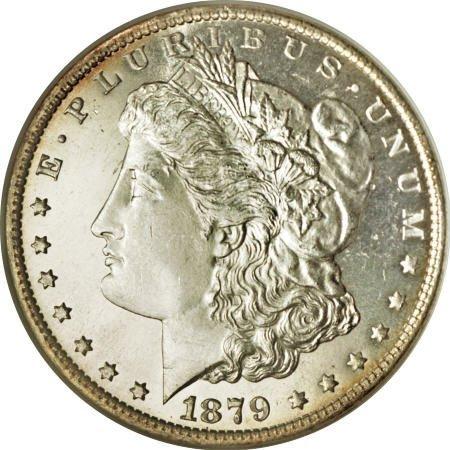 2185: 1879-O $1 MS65 Deep Mirror Prooflike NGC.