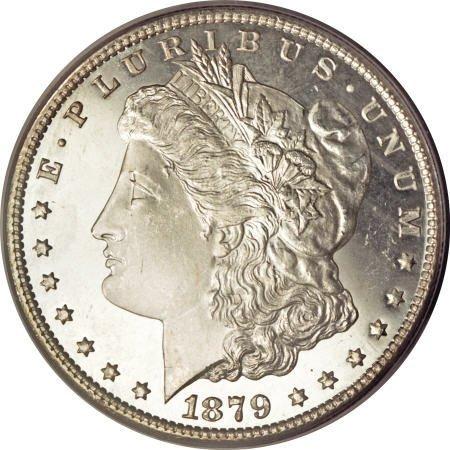 2186: 1879-S $1 MS67 Deep Mirror Prooflike PCGS.