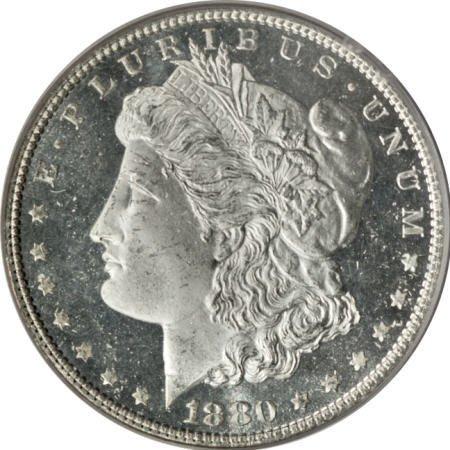 2188: 1880 $1 MS65 Deep Mirror Prooflike PCGS.