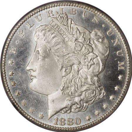 2189: 1880-CC $1 MS65 Deep Mirror Prooflike PCGS.