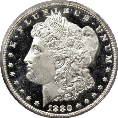 2190: 1880/79-CC $1 Reverse of 1878 MS64 Deep Mirror