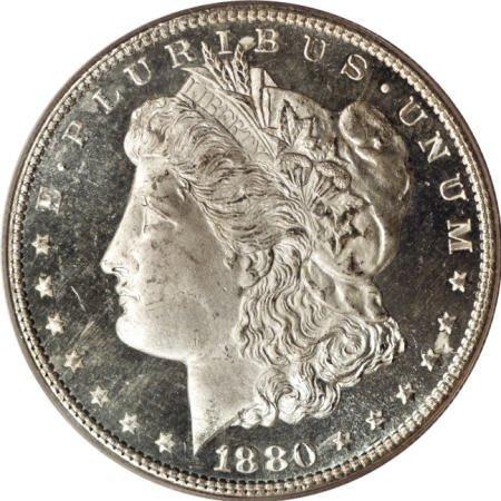 2193: 1880-S $1 MS67 Deep Mirror Prooflike PCGS.