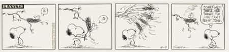 41520: Charles Schulz - Peanuts Daily Strip Art 1971