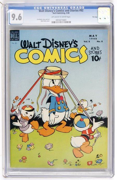41104: Walt Disney's Comics and Stories #92 File Copy