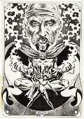 41351: Frank Brunner Marvel Treasury Dr. Strange Art