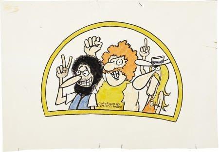 41617: Gilbert Shelton - Fabulous Furry Freak Bros Art