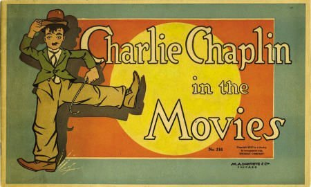 42015: Charlie Chaplin At the Movies #316 Essanay 1917
