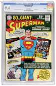 42175: Superman #183 (DC, 1966) CGC NM 9.4 White pages.