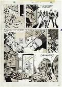 42339: Paul Gulacy, Al Milgrom Deadly Hands Kung Fu Art
