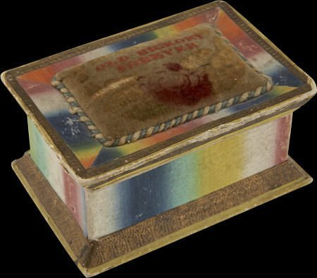 48010: Andrew Jackson: Colorful Sewing Box