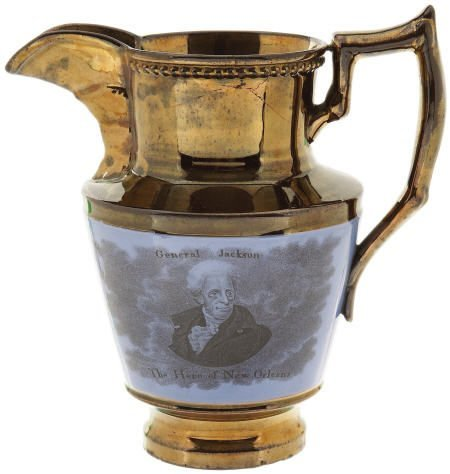 "48011: Andrew Jackson: ""Hero Of New Orleans"" Pitcher"