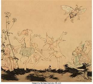 71042: Arthur Rackham (British, 1867-1939) Fairy Dance