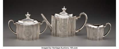 74021: A Three-Piece Tiffany & Co. Paul Revere Pattern